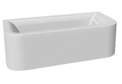 Options BTW без гидромассажаВанны<br>Vayer Options BTW прямоугольная акриловая ванна.<br>