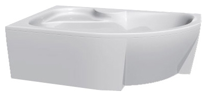 Azalia 150 без гидромассажа RВанны<br>Vayer Azalia 150 правая нестандартная акриловая ванна.<br>
