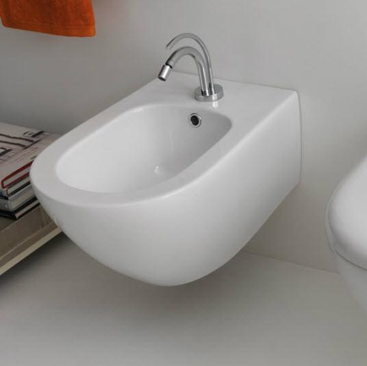 Aquatech 3725 ПодвесноеБиде<br>Подвесное биде Kerasan Aquatech 3725. Цвет белый.<br>