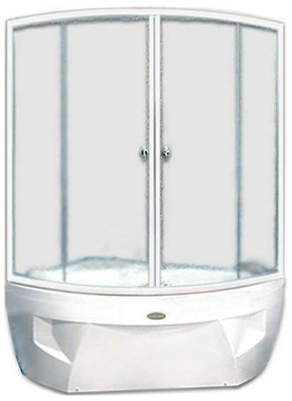 Фиеста АлюминийДушевые ограждения<br>Стеклянная шторка на ванну ФИЕСТА. 2 раздвижные створки. Профиль алюминий.<br>