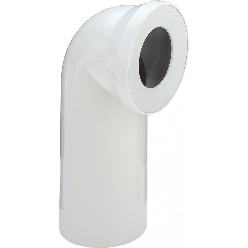 Отвод Viega 100551 90° с манжетным уплотнением Белый отвод viega 100551