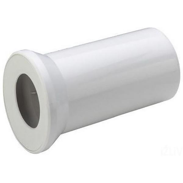 Отвод Viega 101312 прямой с манжетным уплотнением Белый отвод viega 100551