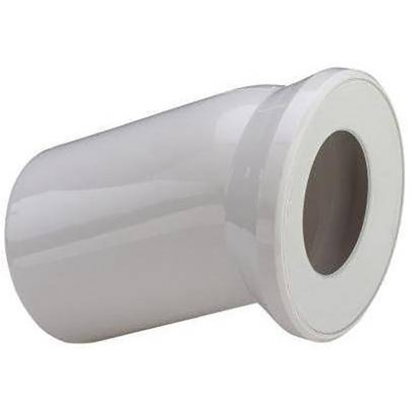 Отвод Viega 101855 22.5° с манжетным уплотнением Белый отвод viega 100551
