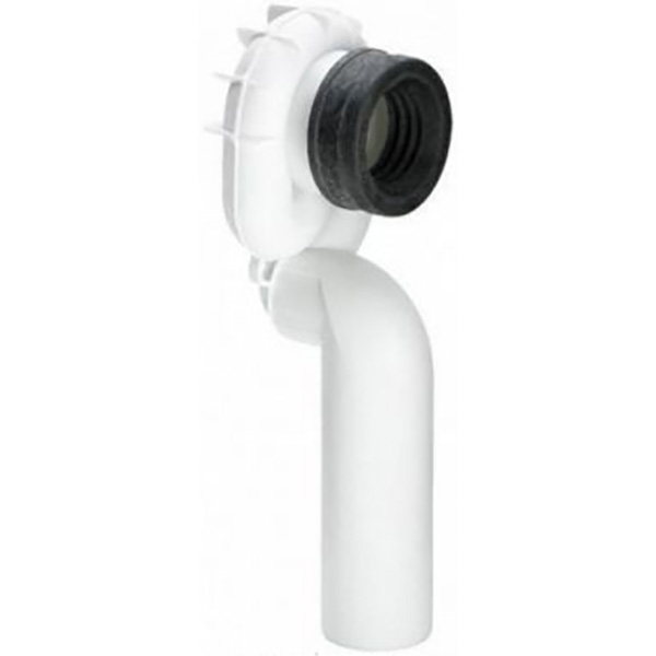 Сифон Viega 492458 с манжетным уплотнением и гидрозатвором Белый отвод viega 100551