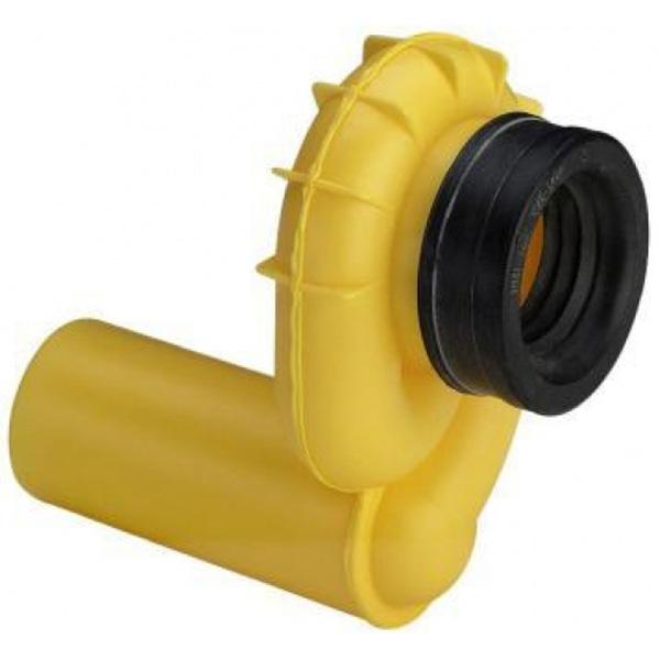 Сифон Viega 492465 с манжетным уплотнением и гидрозатвором Желтый отвод viega 100551