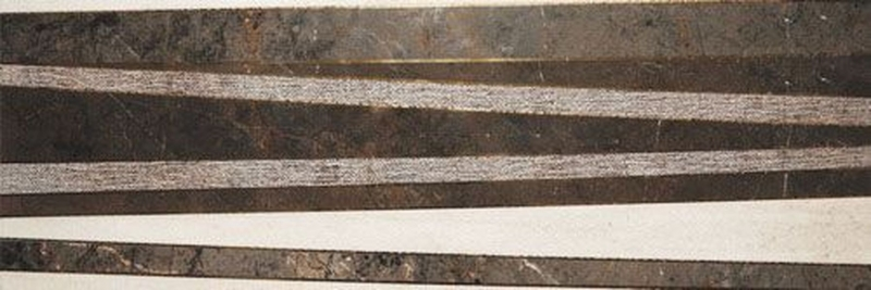 Керамический декор Gemma Marbella Single Grey Dark Gold 30х90 см