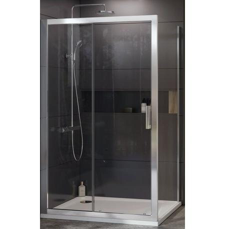 Душевая перегородка Ravak 10° 10PS-80 80 Белый транспарент душевая перегородка ravak 10° 10ps 100 100 белый транспарент