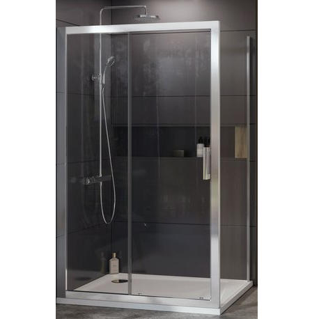 Душевая перегородка Ravak 10° 10PS-90 Белый транспарент душевая перегородка ravak 10° 10ps 100 100 белый транспарент