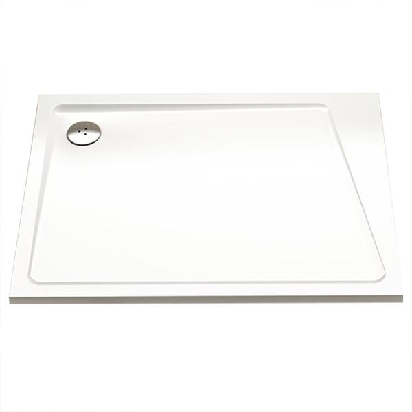 Душевой поддон из искусственного камня Ravak 10° Gigant Pro 120x90 L Белый