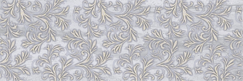 Керамический декор Belleza Даф Лаурия серый 04-01-1-17-03-06-1105-0 20х60 см