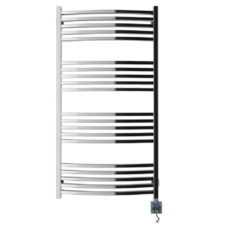 Электрический полотенцесушитель Сунержа Аркус 1200x600 скрытое подключение R Хром