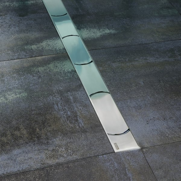 Душевой лоток Ravak Chrome OZ 75 Хром душевой лоток ravak runway ozw 105 хром