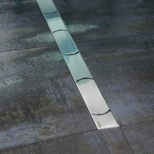Душевой лоток Ravak Chrome OZW 75 Хром душевой лоток ravak runway ozw 105 хром
