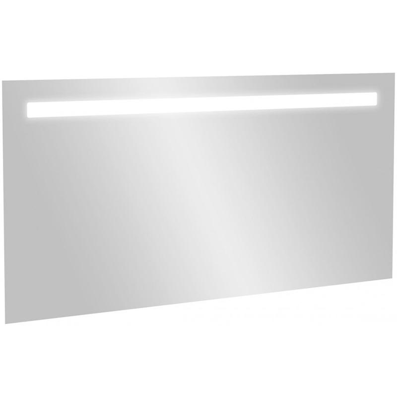 Зеркало Jacob Delafon 120 с подсветкой с подсветкой и часами