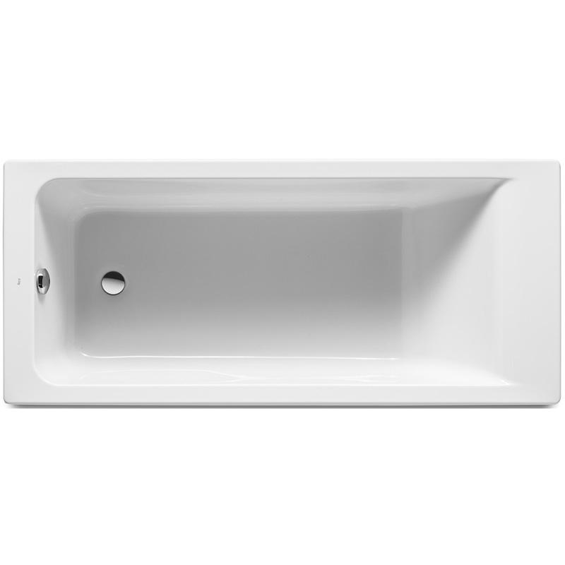 Акриловая ванна Roca Easy 170x70 ZRU9302905 без гидромассажа акриловая ванна excellent wave slim 170x70 без гидромассажа