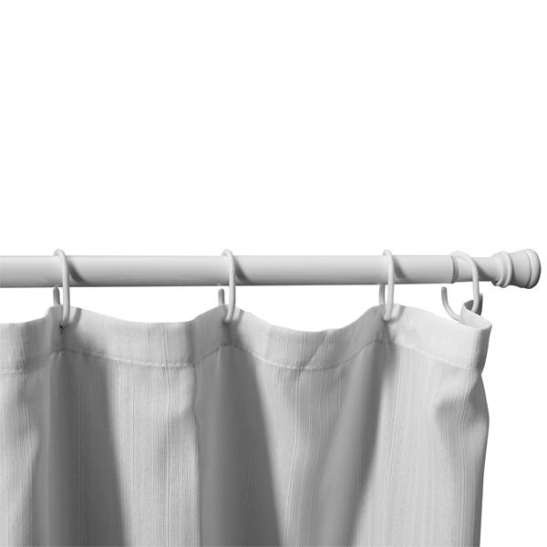 Карниз для ванной Aquanet SR0020A Белый глянец карниз раздвижной blonder home карниз для ванной комнаты elegance silver bh esl 03 серый