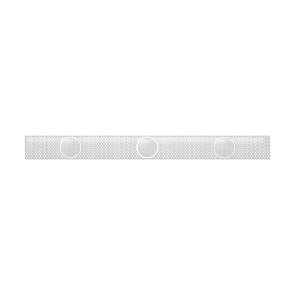 Керамический бордюр Belleza Нежность бежевый 05-01-1-57-03-11-350-0 5х50 см