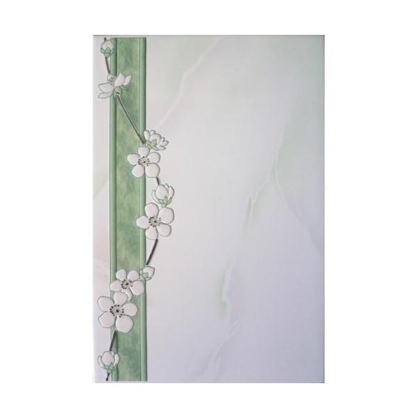 Керамический декор Belleza София бирюзовый 20х30 см стоимость