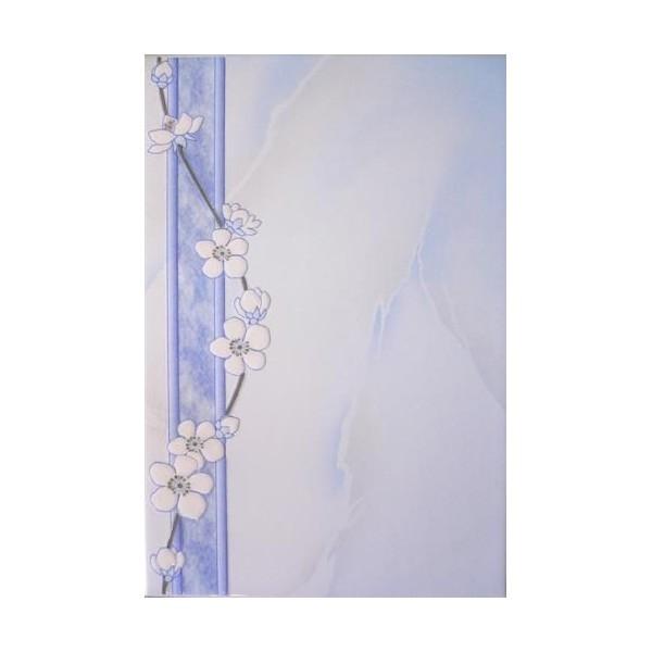 Керамический декор Belleza София голубой 20х30 см стоимость