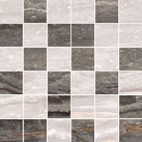 Керамическая мозаика Vitra Bergamo Теплый Микс K946627LPR 30х30 см
