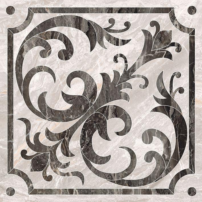 Керамический декор Vitra Bergamo Класический Микс Теплая гамма K946619LPR 60х60 см керамогранит vitra bergamo бежевый k946618lpr 60х60 см
