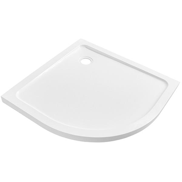 Душевой поддон из искусственного камня WasserKRAFT Berkel 48T01 90x90x4 Белый