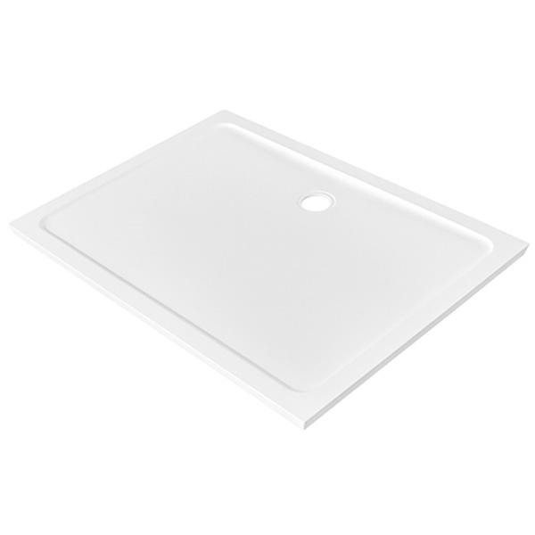 Душевой поддон из стеклопластика WasserKRAFT Berkel 48T07 120x90x4 Белый недорого