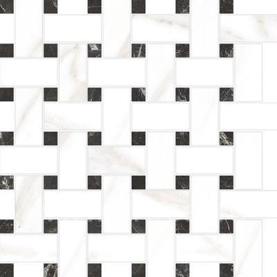 Керамическая мозаика Vitra Marmori Микс Калакатта Белый K945623LPR 31,5х31,5 см