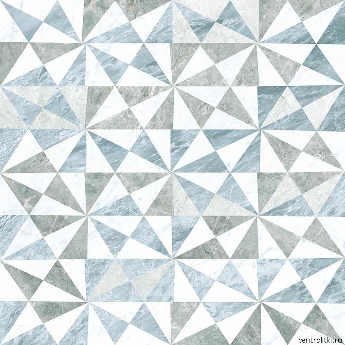 Керамический декор Vitra Marmori Геометрический Микс K946565LPR 60х60 см керамический декор vitra marmori wavy k945336lpr 60х60 см
