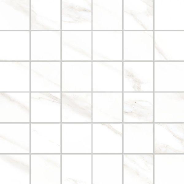 Керамическая мозаика Vitra Marmori Калакатта Белая K945619LPR 30х30 см