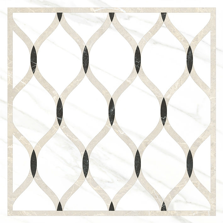 Керамический декор Vitra Marmori Wavy K945336LPR 60х60 см керамический декор vitra marmori wavy k945336lpr 60х60 см
