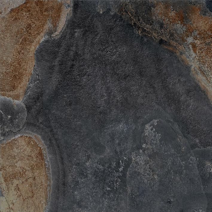 Керамогранит Vitra Vulcano Базальт R9 7РЕК K946610R 60х60 см