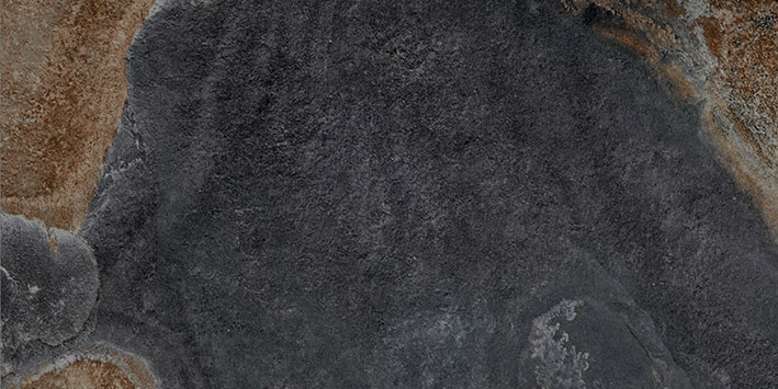 Керамогранит Vitra Vulcano Базальт R9 7РЕК K946601R 30х60 см