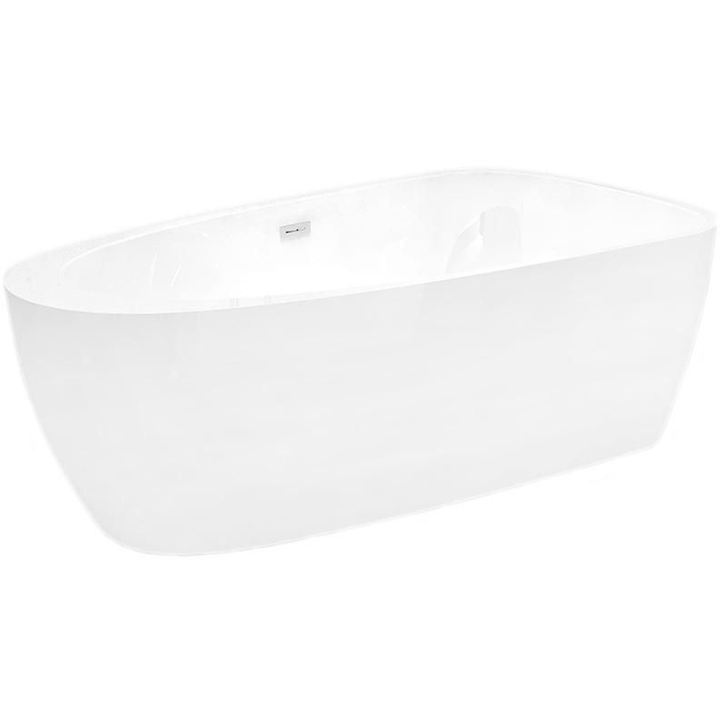 Акриловая ванна Abber AB9210 170х90 без гидромассажа акриловая ванна abber ab9245 169х75 без гидромассажа