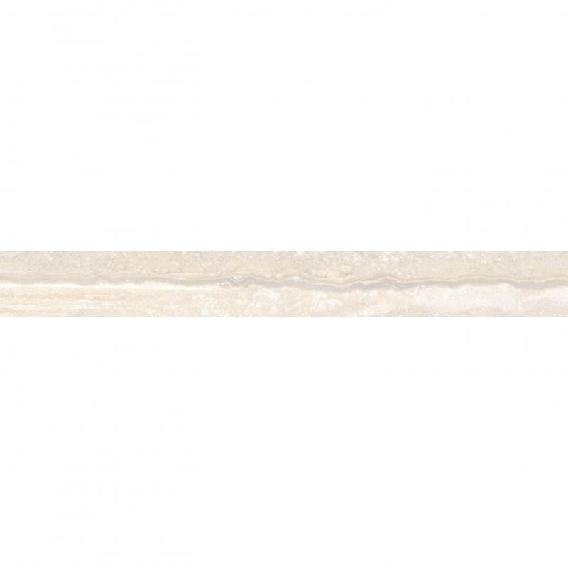 Керамический бордюр Vitra Travertini Кремовый K945643R 7х60 см керамический бордюр vitra marmori кремовый pulpis k945613lpr 7х60 см