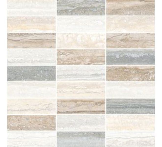 Керамическая мозаика Vitra Travertini Микс K945650R 28,5х29,7 см