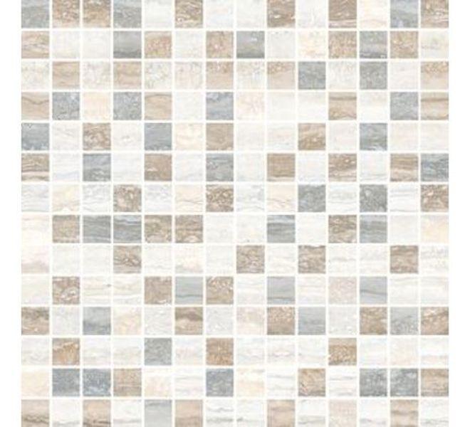 Керамическая мозаика Vitra Travertini Микс K945655R 29,4х29,4 см