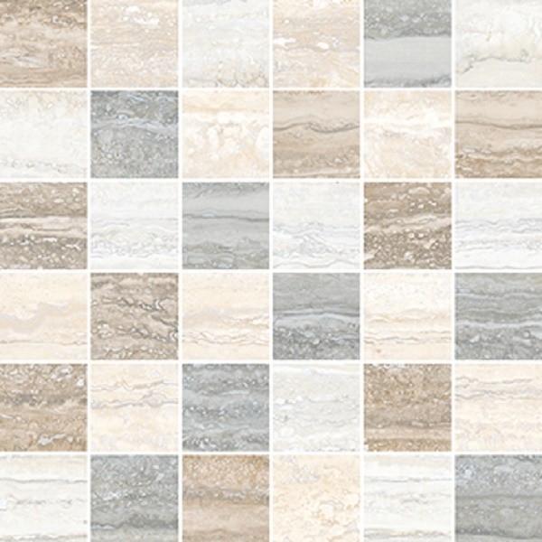 Керамическая мозаика Vitra Travertini Микс K945649R 30х30 см стоимость