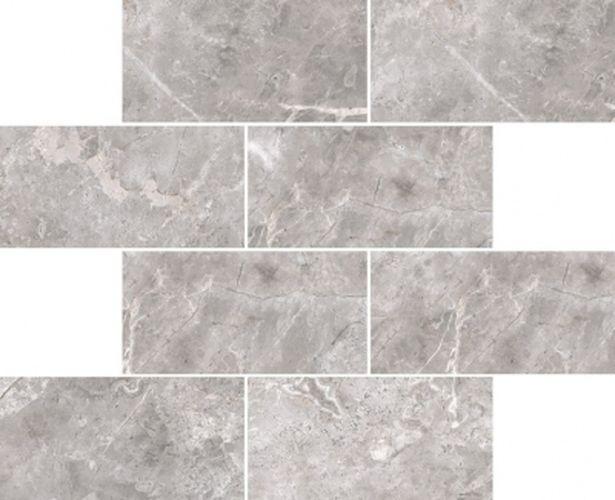 Керамическая мозаика Vitra Marmori Кирпичная кладка Холодный Греж K946649LPR 35,5х29 см