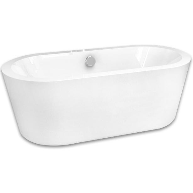Акриловая ванна Abber AB9213 170х80 без гидромассажа акриловая ванна abber ab9245 169х75 без гидромассажа