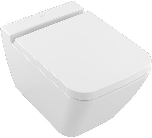 Унитаз Villeroy&Boch Finion Plus 4664R0R1 подвесной Белый альпин CeramicPlus без сиденья