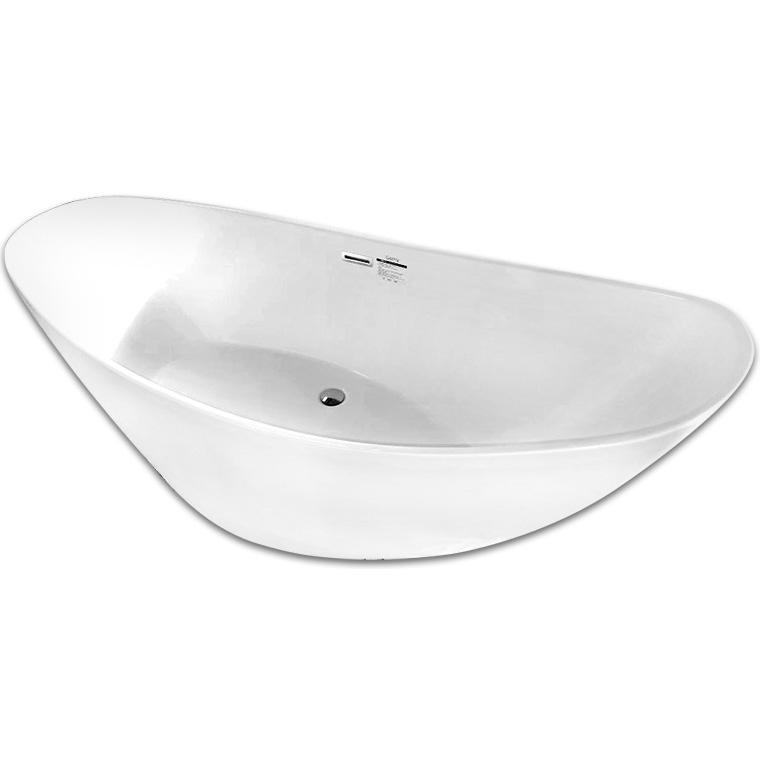 Акриловая ванна Abber AB9233 184х79 без гидромассажа акриловая ванна abber ab9245 169х75 без гидромассажа
