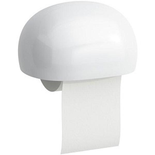 Держатель туалетной бумаги Laufen Alessi One 8.7097.0 с крышкой Белый 8.7097.0.000.000.1