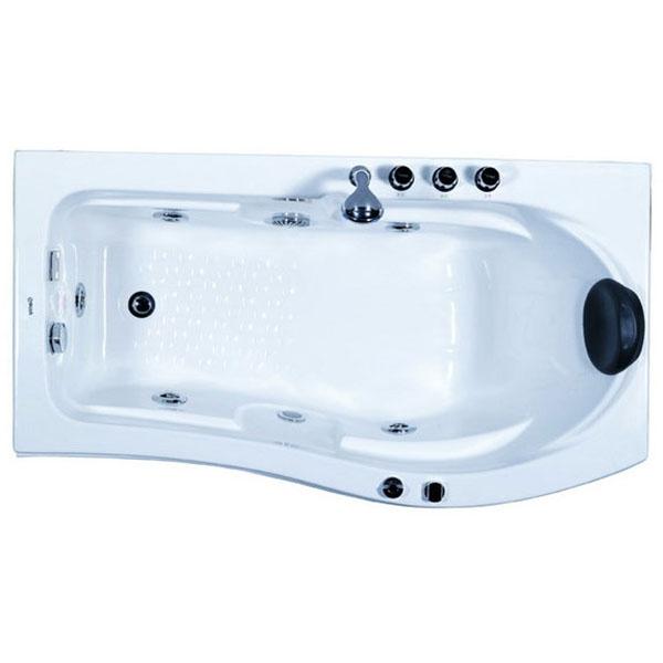 Акриловая ванна Gemy G9010 B 173х83 L с гидромассажем фото