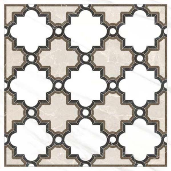 Керамический декор Vitra Marmori Микс Матовый K945345 45х45 см керамогранит vitra marmori st laurent черный матовый k945342 45х45 см