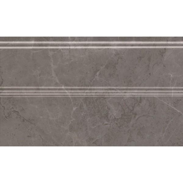 Керамический плинтус Kerama Marazzi Гран Пале серый FMB011 15х25 см