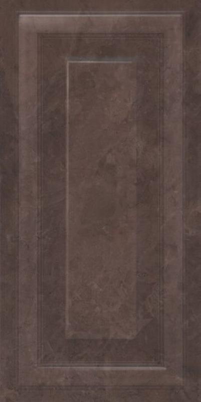 Керамическая плитка Kerama Marazzi Версаль коричневый панель обрезной 11131R настенная 30х60 см stainless steel watch band 26mm for garmin fenix 3 hr butterfly clasp strap wrist loop belt bracelet silver spring bar