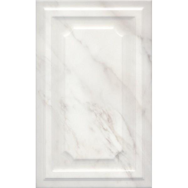 Керамическая плитка Kerama Marazzi Гран Пале белый панель 6357 настенная 25х40 см