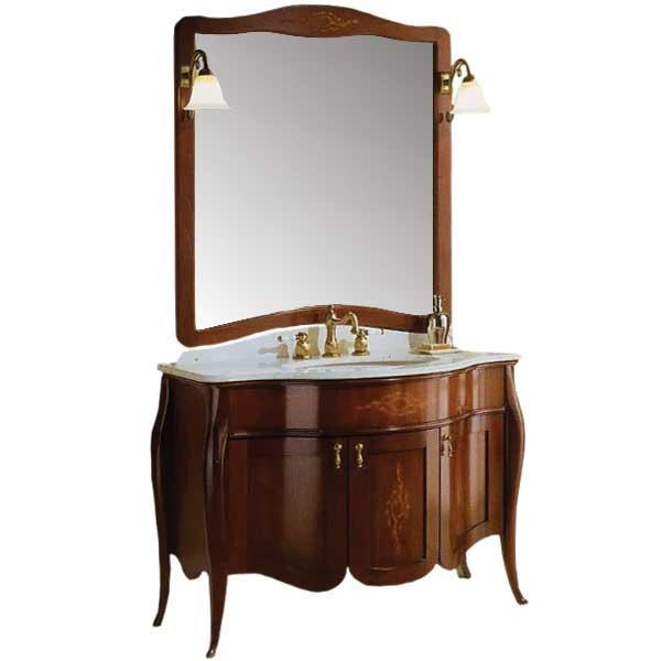 Версаль 110 Вишневое деревоМебель для ванной<br>Мебель для ванной Акванет 173325 Версаль 110. В стоимость входит тумба в цвете вишневое дерево. Все комплектующие приобретаются отдельно.<br>