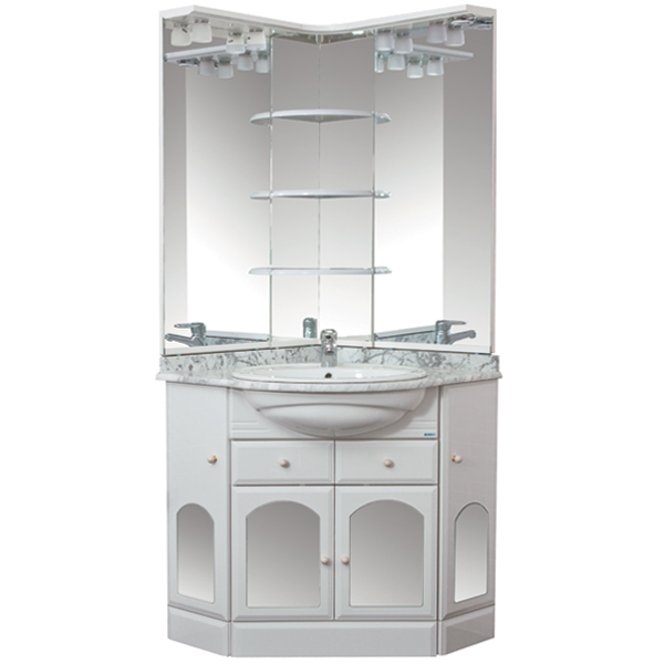 Ринконера Европа 70 белыйМебель для ванной<br>Тумба под раковину Акванет 100695 Ринконера Европа 70. В комплект поставки входит тумба. Цвет: белый.<br>